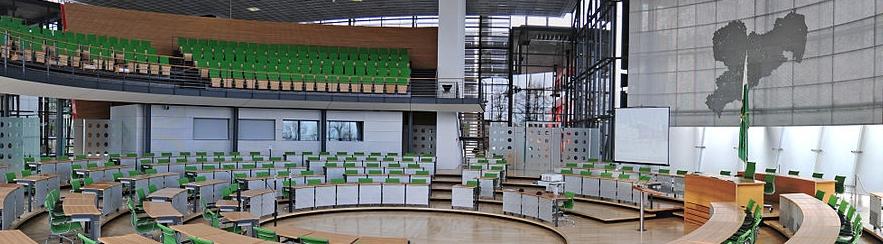 Sächsischer Landtag (Foto: Ralf Roletschek, commons wikimedia)